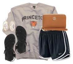✌️ by kaley-ii on Polyvore featuring polyvore, fashion, style, NIKE, Chaco, Kendra Scott and Tory Burch