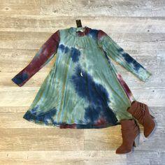 Wild For Tie Dye Dress