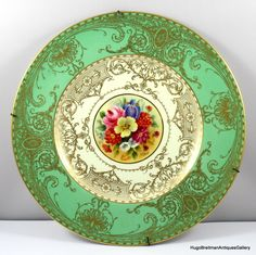 Royal Worcester Porcelain  —  Plate (1024x1042)