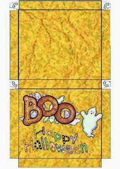 Halloween: Cajas para Imprimir Gratis. | Ideas y material gratis para fiestas y celebraciones Oh My Fiesta!