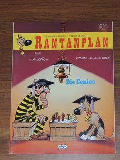 Rantanplan Band #7 Die Genies (Ehapa Verlag) Western Comics, Lucky Luke, Westerns, Comic Books, Band, Drawing S, Sash, Comic Strips