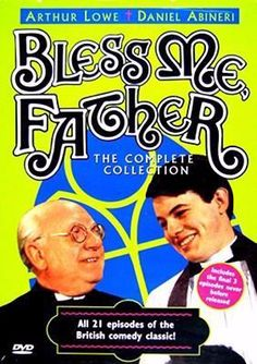 """April 7, 2014. Bless me, Father: the complete collection. """"Bless Me Father"""" is a 21-episode British sitcom that ran from 1978 to 1981. A gentle and impish look at Catholic life in post-war suburban Britain, the series follows the adventures and misadventures of the practical-minded veteran Irish priest Fr. Father Duddleswell (Arthur Lowe) as he tries to break in his inexperienced and idealistic young curate Father Boyd (Daniel Abineri). The priests' lives at St. Jude's Parish in London are…"""