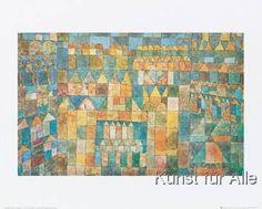 Paul Klee - Tempelviertel von Pert, 1928