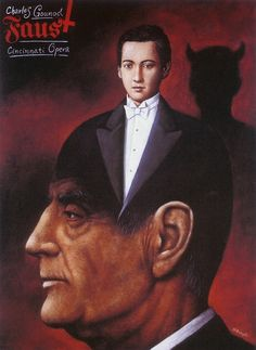 Rafal Olbinski - Johann Wolfgang von Goethe, Faust