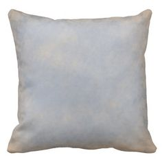 Beautiful Soft Blue throw pillow Throw Pillow #Zazzle #homedecor  Blue is a favorite color for accessorizing your decor. Also shades of lighter tones mix with this blue. Really lovely. New product  price:$65.95