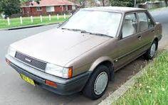 Toyota Corolla AE82 CS sedan 1985-1986