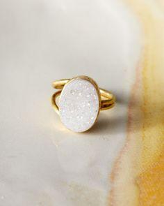 Dara Ettinger Drusy Ring