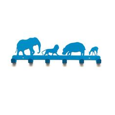 Animals Coat Hanger Blue, $17.99, now featured on Fab.