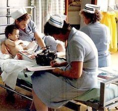 Children's Ward, 1980's. Possibly G.B.