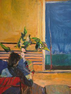 "richard diebenkorn - ""girl with plant, 1960"""