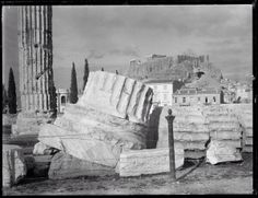 Looking up to Parthenon from Temple of Olympian Zeus Athens 1894 Parthenon, Acropolis, Greece History, Michael Turner, Destroyer Of Worlds, Olympians, Greece Travel, House In The Woods, Looking Up