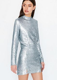 83a5395116f 16 Sequin Dresses That Will Make You Shine On New Year s Eve
