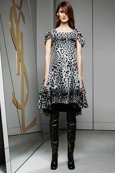Saint Laurent Pre-Fall 2012 Fashion Show - Marie Piovesan (Viva)