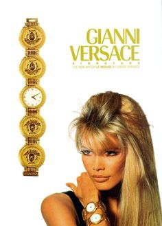 Claudia Schiffer  Versace
