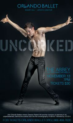 TheDailyCity.com: Orlando Ballet Uncorked Coming November 13th