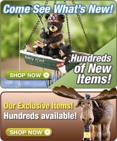 Collections, great stuff for home and garden, kids, clothing etc. inexpensive.