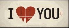 "I ""love"" you"