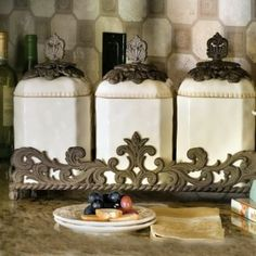 Gracious Goods Canisters - Enhance your kitchen with our full line of GG Canisters