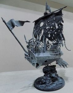 This would make a great undead pirate ship