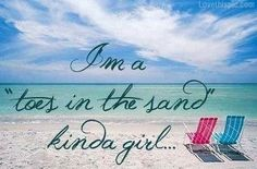 Toes in the sand  quotes summer beach girl ocean water