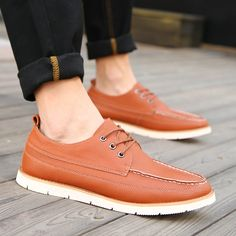 Find More Men's Casual Shoes Information about Sapatos For Men Spring Zapatos Fashion Design Cheap Schoenen Comfortable Brand Casual Shoes Size 39 to 44 Black Blue Brown,High Quality shoes top,China shoe jokes Suppliers, Cheap shoes brandname from Hong Kong Mansway Trade Co.,Limited on Aliexpress.com