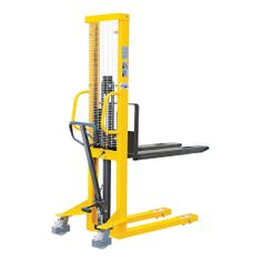 Model STI16Y #Hydraulic #Stackers Conforms to EN ISO3691-5:2009 based on directive 2006/42/EC Lifting is controlled by a #hydraulic #pump which can be either hand operated or foot operated #Mobile on two swivel 180mm braked #nylon #castors with #wheel #guards and two tandem 80mm front nylon rollers STI19Y has straddle legs, allowing palletised loads to be lifted from the floor See more at: http://shop.hsil.co.uk/p-4252-hydraulic-stackers.aspx#sthash.VhMrkid5.dpuf