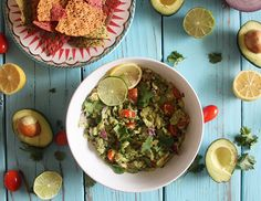 Lemon Lime Guacamole
