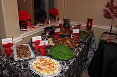 Twilight Breaking Dawn party at my home Nov 2011