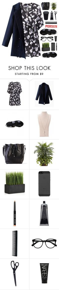 """Persunmall 5"" by novalikarida ❤ liked on Polyvore featuring Proenza Schouler, Nearly Natural, Crate and Barrel, Bobbi Brown Cosmetics, GHD, Retrò, HAY, NARS Cosmetics, summerdress and floraldress"