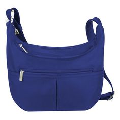 Travelon Classic Rfid-Blocking Anti-Theft Slouch Hobo Bag, Adult Unisex,