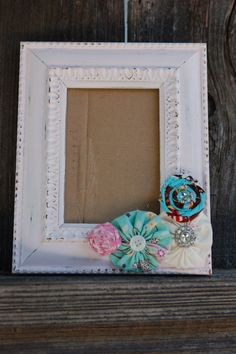 Shabby Chic Picture Frame by BettyBumpkin on Etsy, $18.00