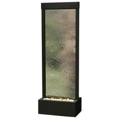 Gardenfall Black Onyx and Glass Indoor/Outdoor Fountain   LampsPlus.com