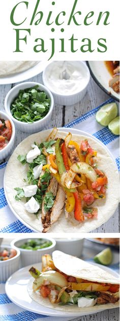 Chicken Fajita Recipe -- perfect for family dinners! #FreakyFriday