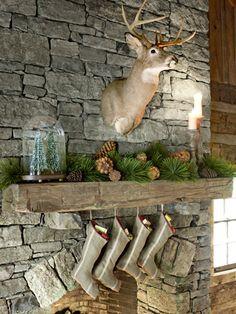 Rustic Christmas rustic reindeer christmas decorations merry christmas christmas decorations christmas decorating holiday decorations