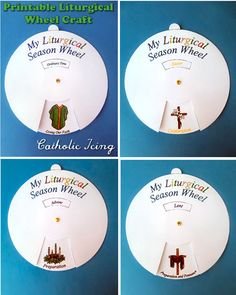 printable liturgical wheel calendar for kids