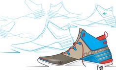 Adidas sketch