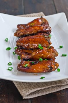 Sticky Chinese Chicken Wings - tons of flavor and perfect to the very last bite.