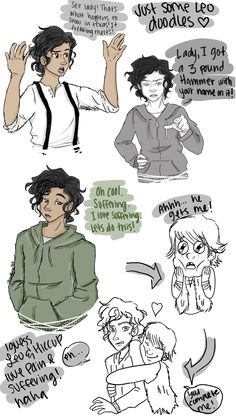 Leo Valdez comic. This is awesome. :D