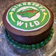 In honor of this week's Hockey Day Minnesota 2013 announcement, we've found a cake that's sure to drive you #WILD!