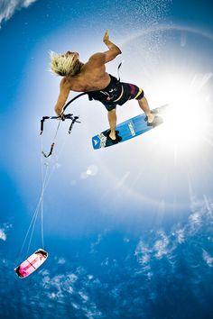 Going where the wind blows #kitesurfing http://www.blueprinteyewear.com/