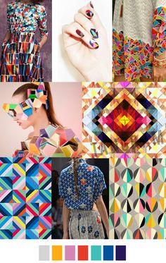 Patrones y colores neón para un look llamativo y con estilo #Tendencias #TendenciasBECO