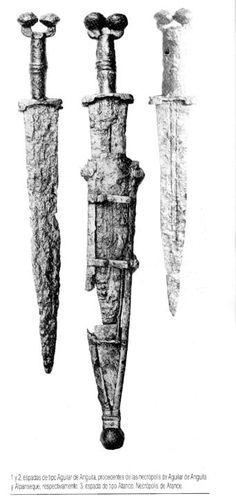 Espadas celtas de Iberia
