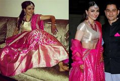 Top 10 Wedding Reception Looks Of Bollywood Brides That You Can Steal - Yahoo Lifestyle India