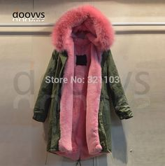 Cheap women pink fur coat, Buy Quality pink fur coat directly from China fur coat Suppliers: 2016 fashion apparel outerwear wholesale fur collar parka women pink fur coat wear comfortable Jackets For Women, Clothes For Women, Women's Jackets, Pink Fur Coat, Womens Parka, Weekend Wear, Fur Collars, Latest Fashion For Women, Coats