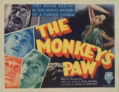 Lobby Card from the film The Monkey's Paw