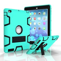 For IPad 2 3 4 Retina Drop resistance Hybrid Tablet Case For iPad mini 1/2/3 Armor Cover With Stand For iPad4 iPad3 iPad2