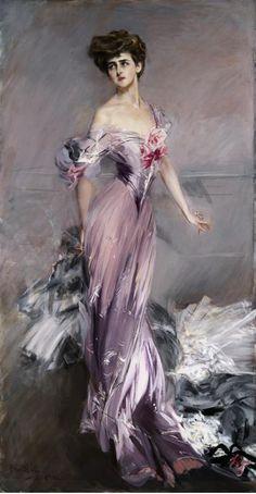 Portrait of the Countess de Martel de Janville, known as Gyp (1850-1932) - Giovanni Boldini