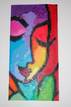 chance by thomas fedro perler bead art made by me - amanda wasend aka lacy leather