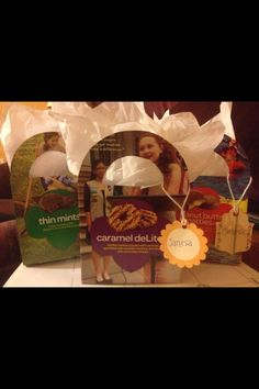 Recycling Girl Scout cookie boxes!