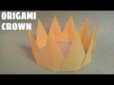 Origami Paper Crown Easy Origami Crown Tutorial How To Make Paper Crown. Origami Paper Crown Kings Crown Or. 3d Origami, Origami Rocket, Origami Apple, Origami Crown, Origami Ball, Easy Origami, Origami Ideas, Oragami, Fun Crafts For Kids